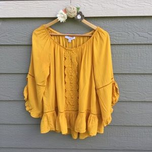 Mustard Color Blouse